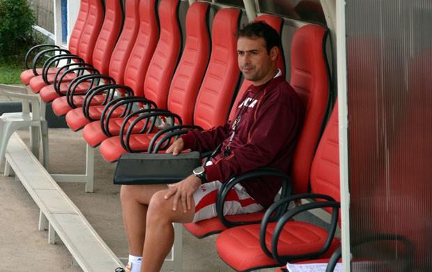 Sidney Moraes diz que Boa Esporte não vai jogar na retranca em Campinas (Foto: Tiago Campos / Globoesporte.com)