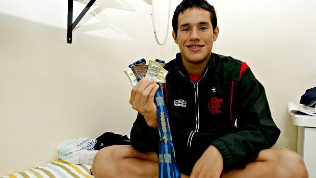 Luiz Altamir coleciona medalhas em competições nacionais e internacionais (Foto: Kid Júnior/Agência Diário)