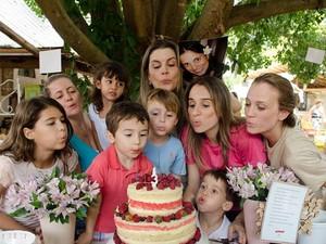 Grupo 'Mães Amigas', de Campinas, comemora três anos em 2014 (Foto: Caca Dominiquini)