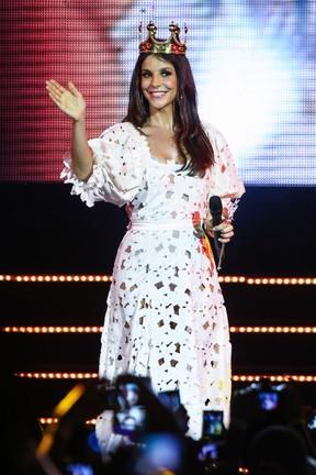 Ivete Sangalo se apresenta em São Paulo (Foto: Manuela Scarpa/ Foto Rio News)