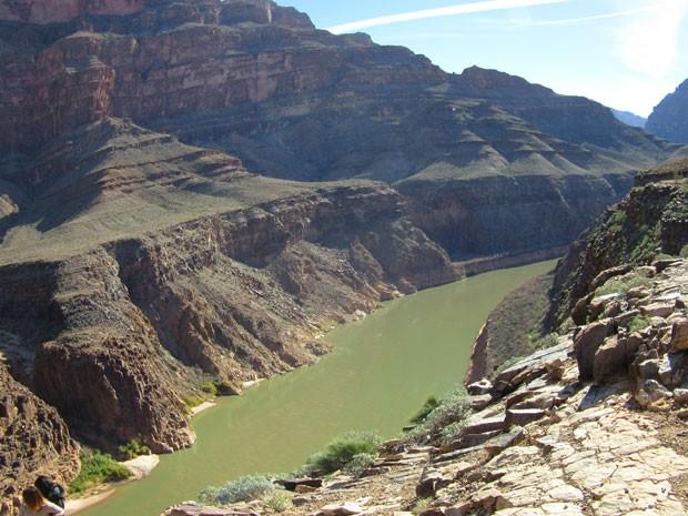 O Grand Canyon, uma das atrações mais visitadas dos EUA (Foto: Flávia Mantovani/G1)