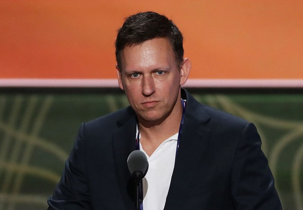 Peter Thiel, cofundador do PayPal (Foto: Getty Images)