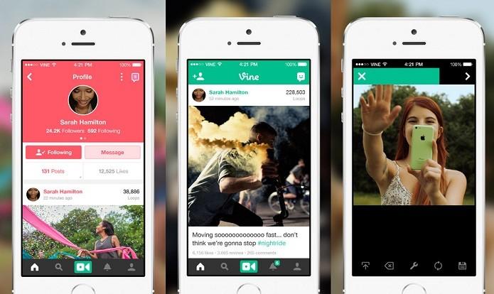 Vine agora permite o compartilhamentos de vídeos de forma privada (Foto: Divulgação/AppStore)