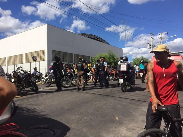 Policiais realizaram 70 prisões em Sobral (Foto: Foto: Blog Sinhá Sabóia/ Arquivo pessoal)