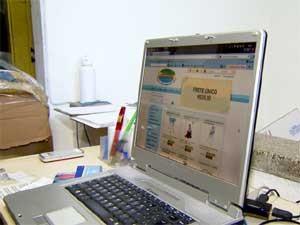 Site de loja virtual de Campinas (Foto: Reprodução EPTV)