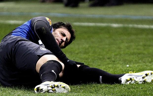 Diego Milito internazionale lesão (Foto: Agência EFE)