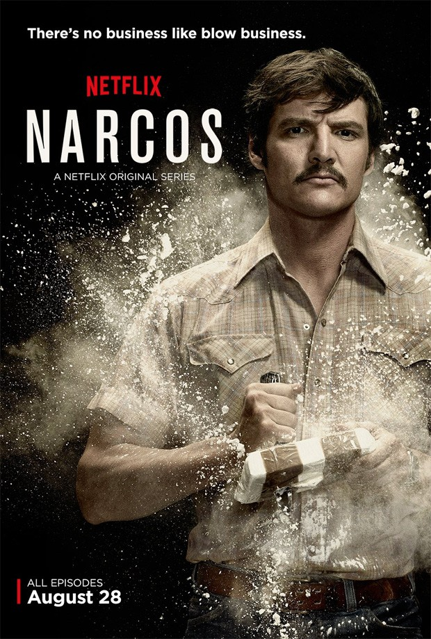 Pedro Pascal vive o agente Javier Peña na série 'Narcos', no Netflix (Foto: Divulgação)