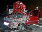 Acidente deixa duas pessoas feridas na BR-459 em Piranguinho, MG