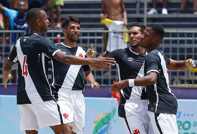 Vasco da Gama estreou com vitória no clássico carioca contra o Botafogo - futebol de areia (Foto: Marcello Zambrana / DGW)