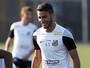 Recuperado de choque na cabeça, Thiago Maia volta a treinar no Santos