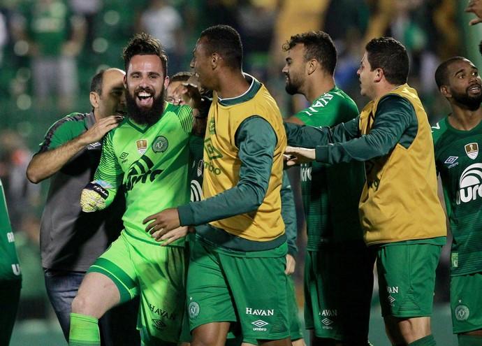 Jandrei Chapecoense x Defensa (Foto: REUTERS/Diego Vara)