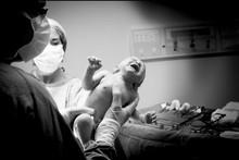 Fotos profissionais na hora do parto