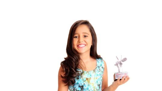 'Ela se superou, estou orgulhoso', diz pai de capixaba no The Voice Kids