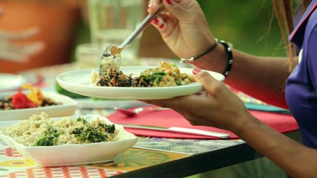 Freekeh com agrio e gengibre da Bela Gil para o Bela Cozinha Ep energizantes (Foto: Divulgao)