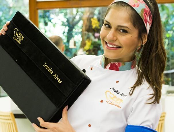 Jéssika Alves Super Chef Celebridades 2014 (Foto: Globo/João Miguel Júnior)