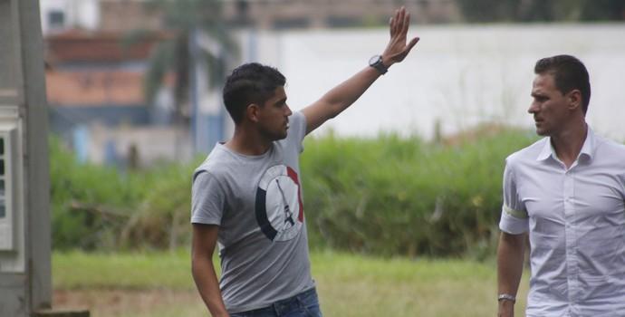 Daniel Borges, lateral-direito (Foto: Cleber Akamine)