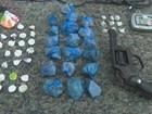 Homem é preso com drogas, arma e R$ 8 mil em Cacoal, RO