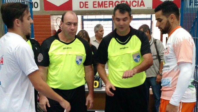 Muriaé Futsal contra Volta Redonda Estadual do Rio (Foto: Muriaé Futsal/Divulgação)