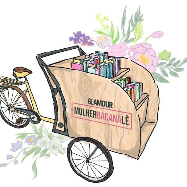 Book bike da Glamour Brasil (Foto: Divulgação)