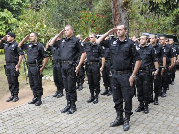18 guardas municipais fazem parte do GTAM (Foto: Daniel Marcus/Divulgação)