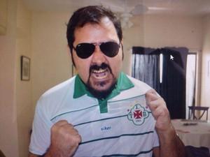 João Paulo, torcedor da Tuna (Foto: Arquivo pessoal)