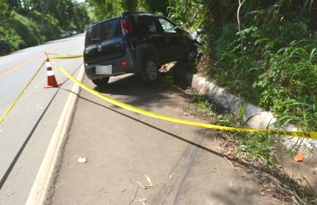 PM aposentado morre após levar tiro enquanto dirigia na GO-060, diz polícia em Goiás (Foto: Divulgação/Polícia Civil)