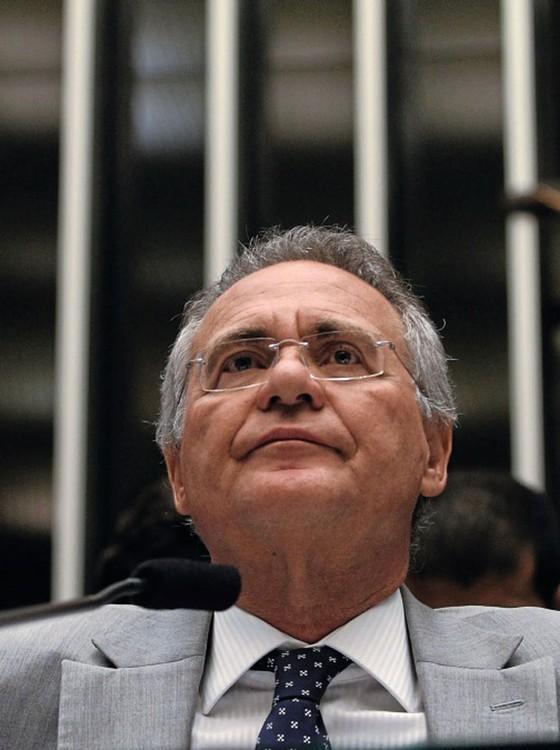 O presidente do Senado,Renan Calheiros  (Foto: Givaldo Barbosa / Agência O Globo)