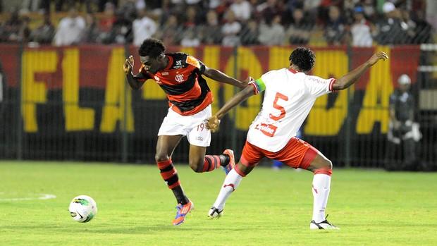 Negueba Flamengo x náutico (Foto: Alexandre Vidal / Fla imagem)