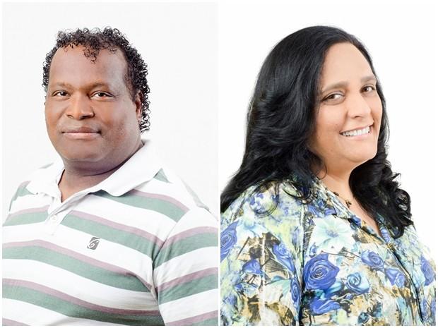 Candidatos empataram nos votos e na idade (Foto: Arquivo Pessoal/ Paulo Henrique e Arquivo Pessoal/ Valeria)