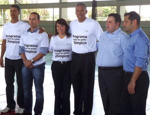ex-atleta Joaquim Cruz lança projeto esportivo em Brasília (Foto: Fabrício Marques / Globoesporte.com)