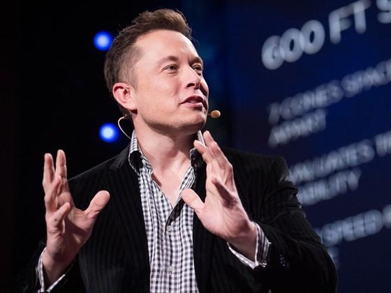 Elon Musk, fundador da SpaceX (Foto: Divulgação/TED)
