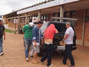 Suspeitos de roubar avião no Pará são presos em distrito de Rondônia (Foto: Kleyton Santos/Arquivo Pessoal)