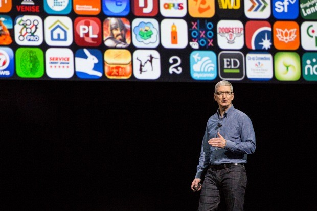 Tim Cook, CEO da Apple (Foto: Andrew Burton/Getty Images)