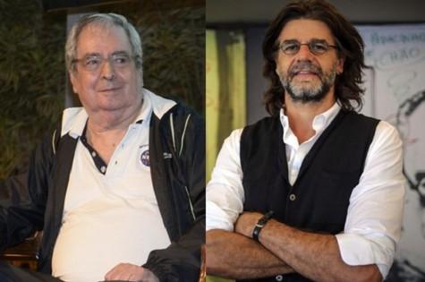 Benedito Ruy Barbosa e Luiz Fernando Carvalho (Foto: Divulgação)