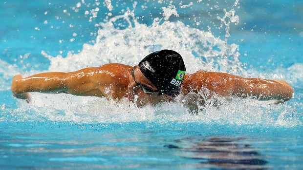 kaio marcio natação (Foto: Satiro Sodré/Agif)