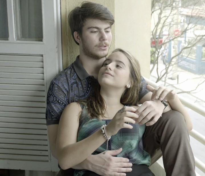 O casal tem uma conversa franca (Foto: TV Globo)