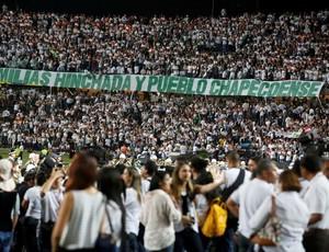 Homenagem Atlético Nacional Chapecoense
