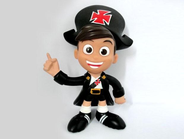 novo boneco Mascote Vasco (Foto: Divulgação / Site Oficial do Vasco da Gama)