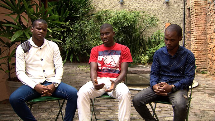 Estudantes africanos observam que, na Bahia, a África é vista como um país (Foto: TV Bahia)