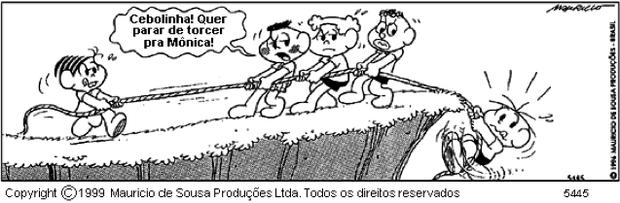 Quadrinho da Turma da Mônica (Foto: Reprodução)