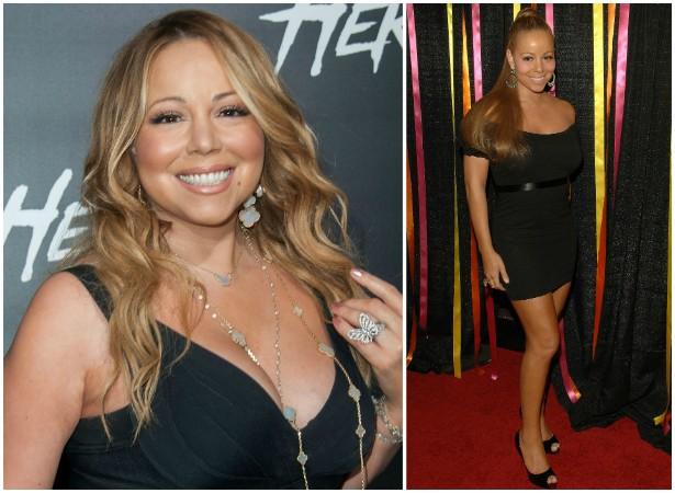 Mas ninguém supera Mariah Carey. Desde 2006, circula a informação de que a cantora tem um seguro para as pernas no valor de 1 bilhão de dólares! Será que é verdade? (Foto: Getty Images)