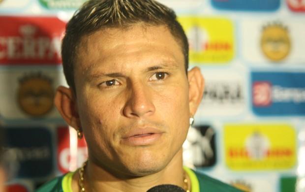 Rafael Oliveira concedeu entrevista e se despediu do Paysandu (Foto: Marcelo Seabra/O Liberal)