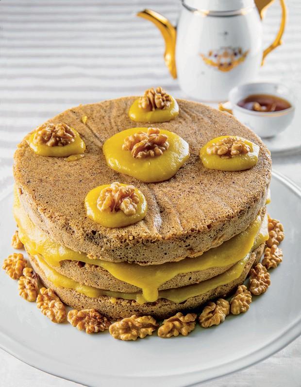 torta-de-nozes (Foto: Divulgação)