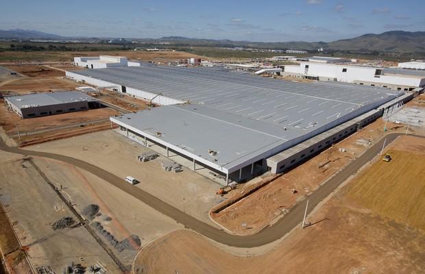 Fábrica da Nissan em Resende, Rio de Janeiro (Foto: Divulgação)