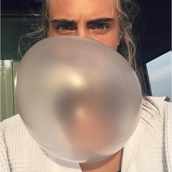 A atriz e modelo Cara Delevingne (Foto: Instagram)