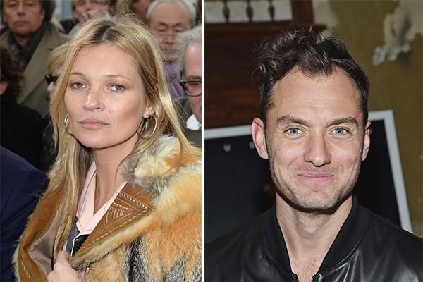 Kate Moss foi a escolhida para ser madrinha de Iris, filha de Jude Law (Foto: Getty Images)
