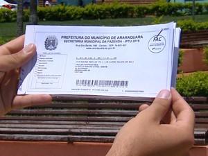 G1 Prefeitura Começa A Distribuir Mais De 115 Mil Carnês