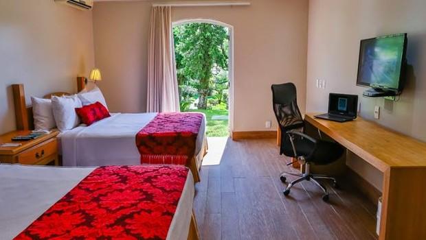 Hotel da rede Quality, em Marília (SP) (Foto: Reprodução/ Facebook)