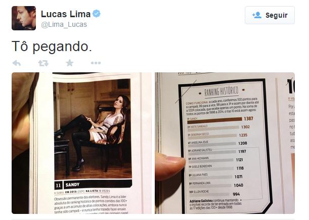 Lucas Lima (Foto: Reprodução/ Twitter)