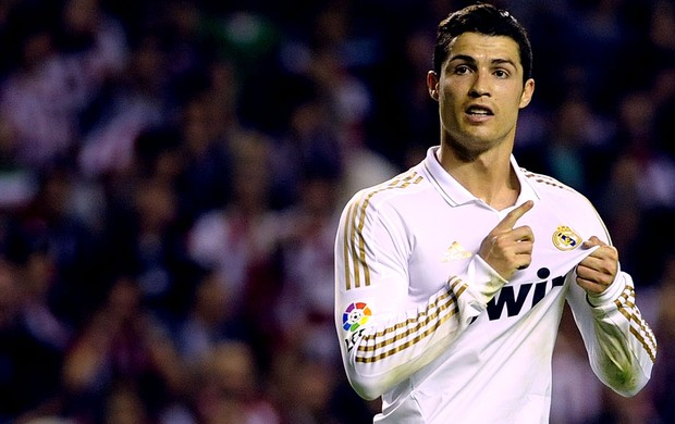 cristiano ronaldo real madrid gol atlético Bilbao (Foto: Agência AFP)